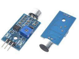 Noise Sound Audio Sensor analog and adjustable trigger output for Arduino etc.