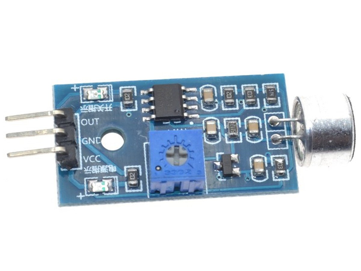 Noise sound audio sensor analog and adjustable trigger