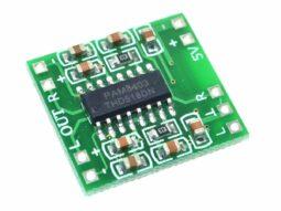 2 pcs 3 Watt Stereo Mini Class-D Audio HiFi Amplifier Module, 5V
